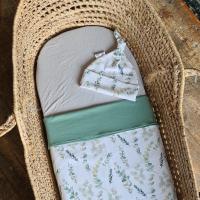 baby prematuur couveuse deken eucalyptus groen