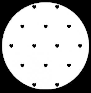 Muurcirkel Hartjes