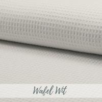 wafel stof wit