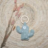 Cactus gehaakt bijtring baby