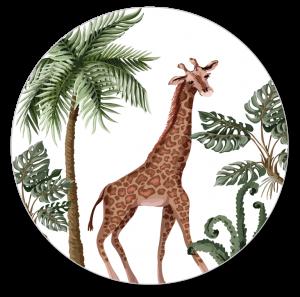 Muurcirkel Giraf