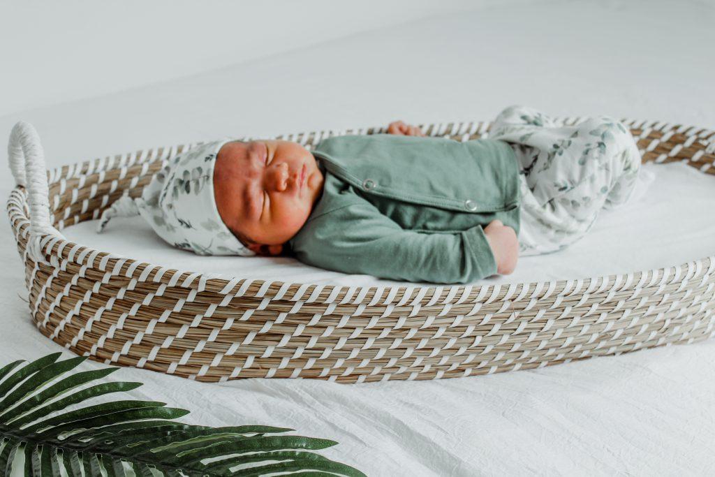 Newborn kleding overslagshirt