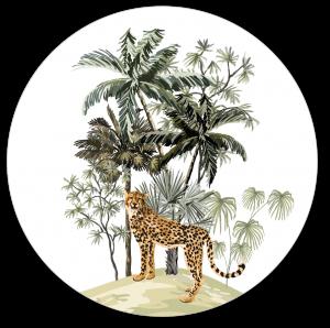 Muurcirkel safari luipaard